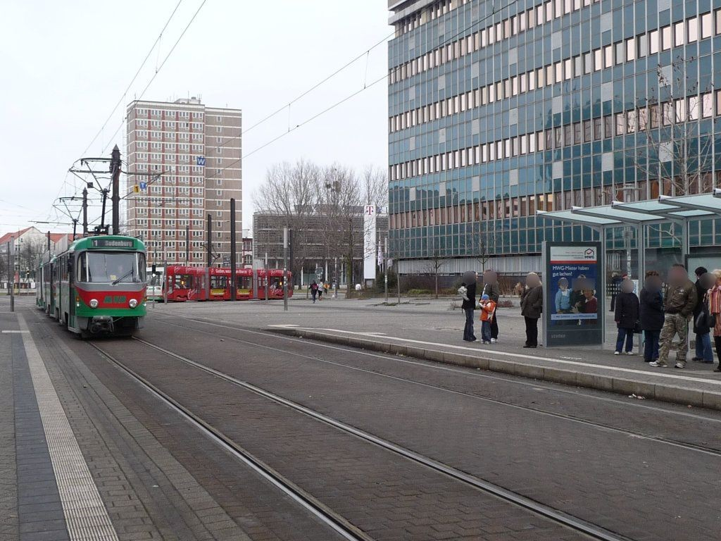 Breiter Weg  41/Uni-Platz Ri. Nord/We.re.