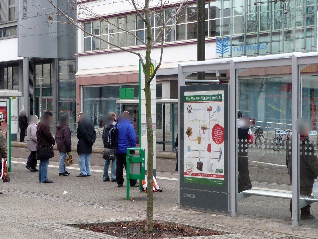 Breiter Weg  41/Uni-Platz Ri. Nord RS