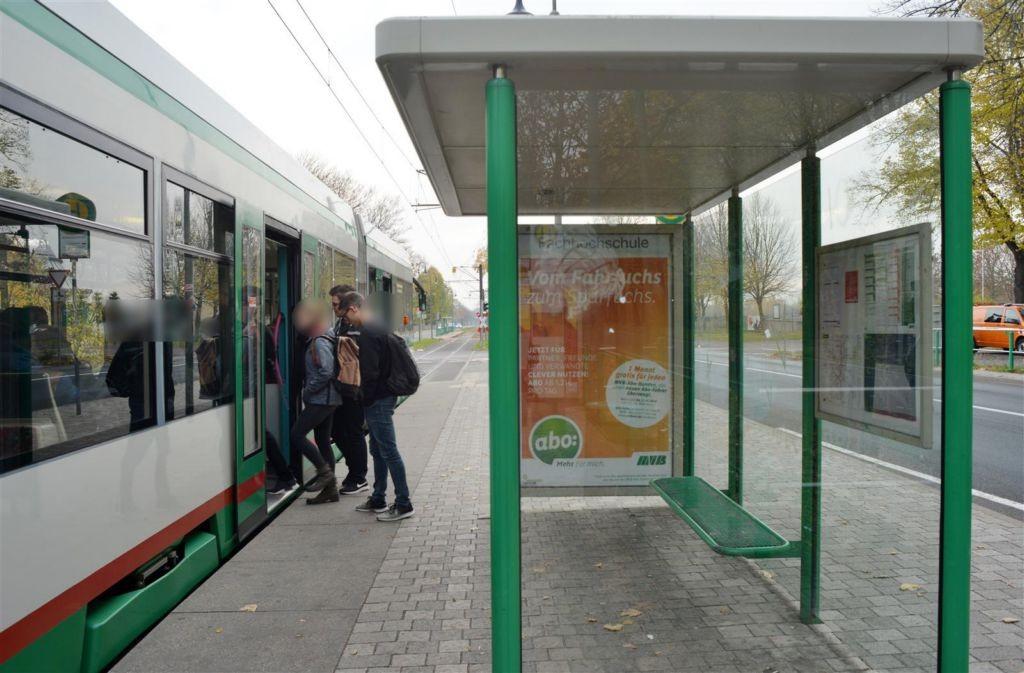 Herrenkrugstr./Breitscheidstr. li./We.re.