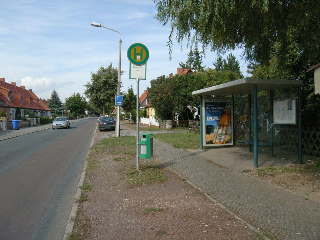 Ostrowskistr.  26/Baumschulenweg We.re.