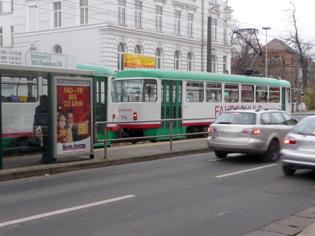 Westring 3 /Große Diesdorfer Str. li. RS