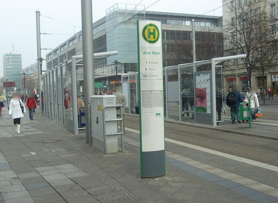Breiter Weg/Alter Markt/Ri. Hasselbachplatz