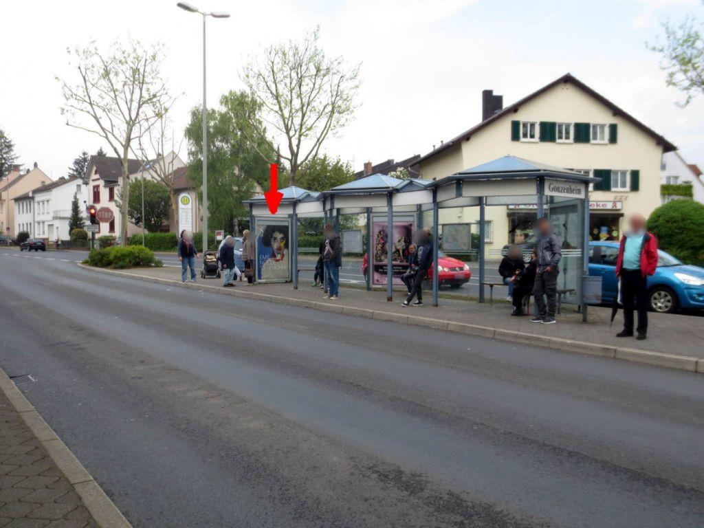 Frankfurter Landstr./U-Bhf. Gonzenheim/V li./innen