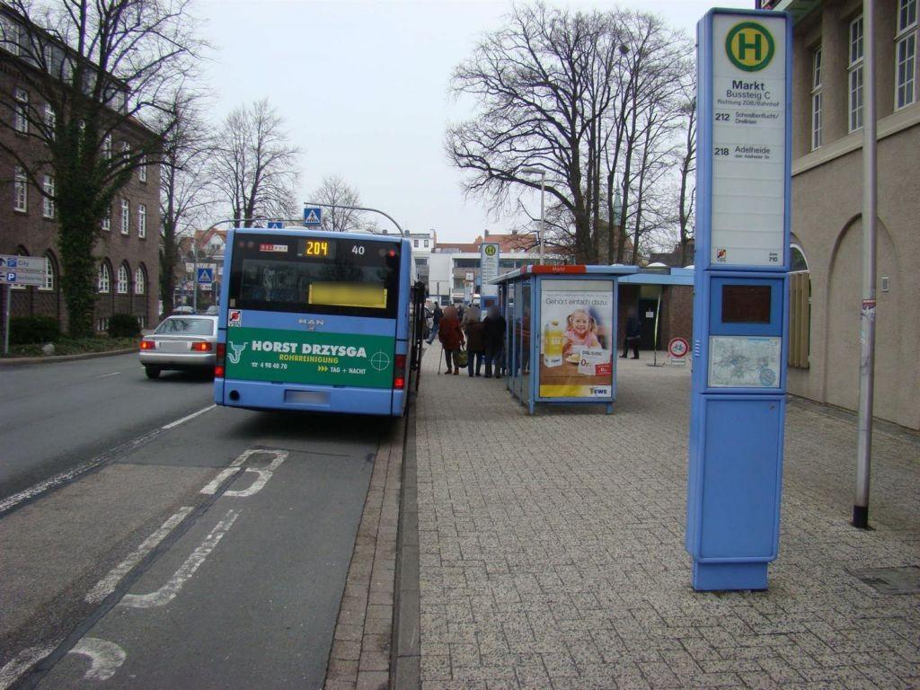 Am Stadtwall/Markt/Bahnsteig C re. aussen