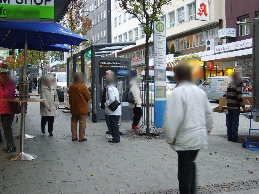 Leopoldstr./HST Leopoldstr. Steig 14/We.li.