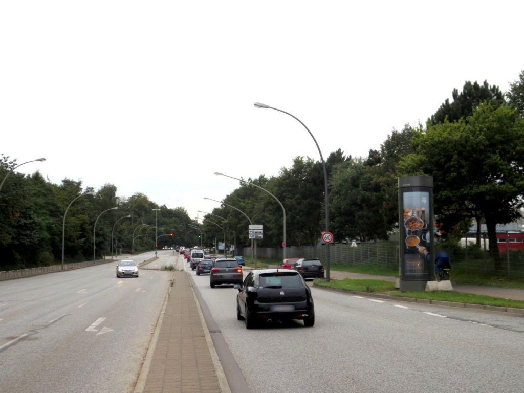 Schnackenburgallee/BAB Ausfahrt HH-Volkspark
