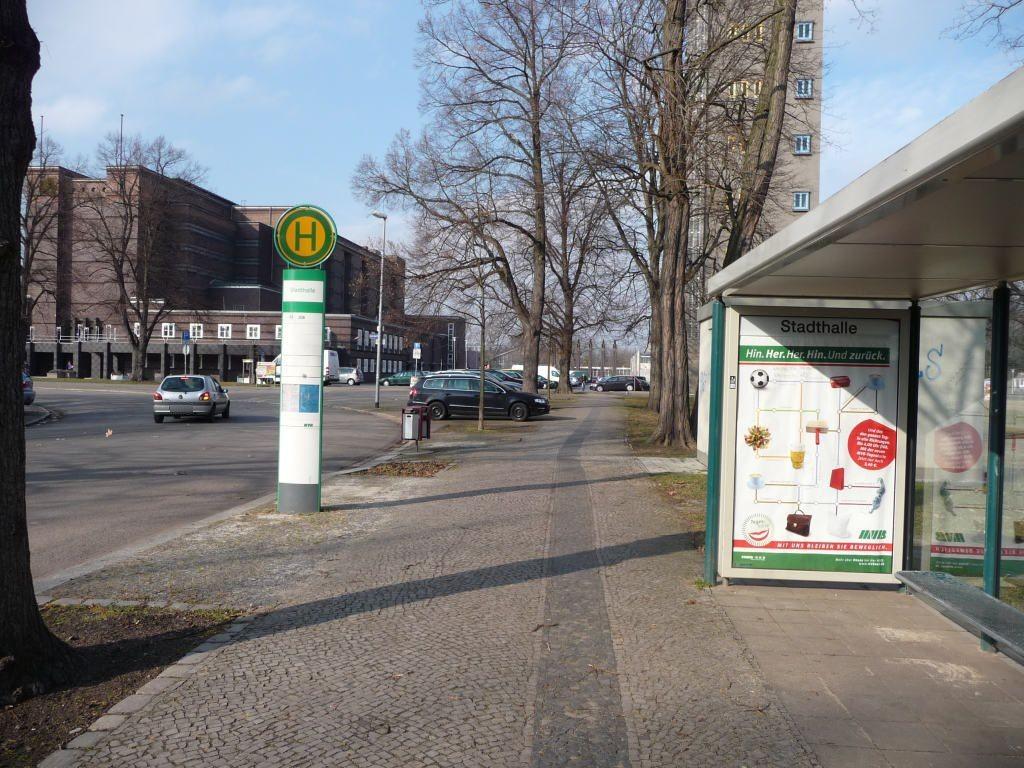 Heinrich-Heine-Platz/Stadthalle li. We.re.