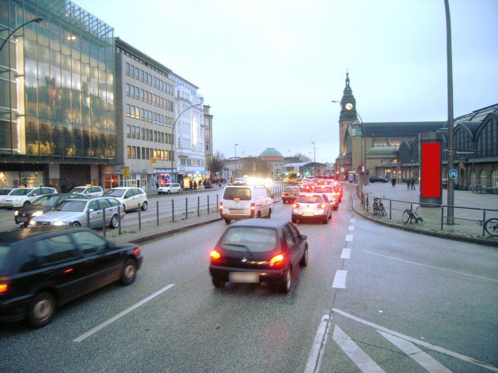 Glockengießerwall / Steintordamm vor Hbf
