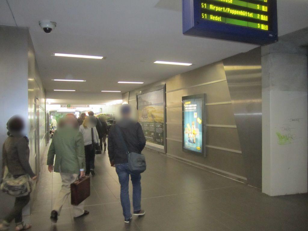 S-Bf Ohlsdorf,Tunnel, Ausg.Im Grünen Grunde