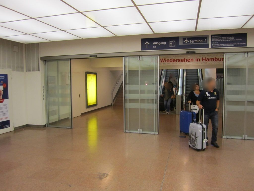 S-Bf HH Airport,Ausgang zum T2, links