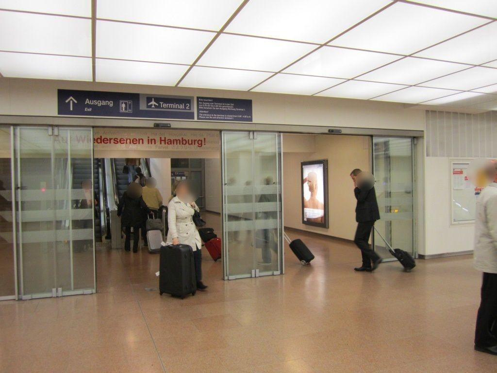 S-Bf HH Airport, Ausgang zum T2, rechts