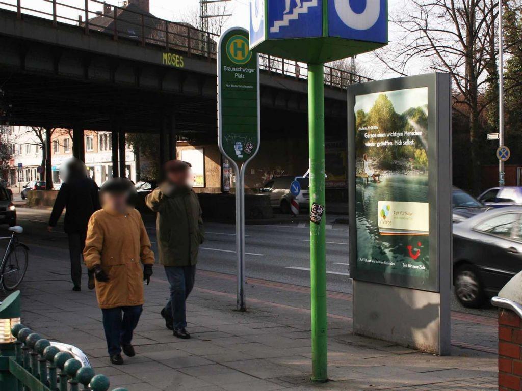 Braunschweiger Platz geg. Bultstr. Si. U-Bahn