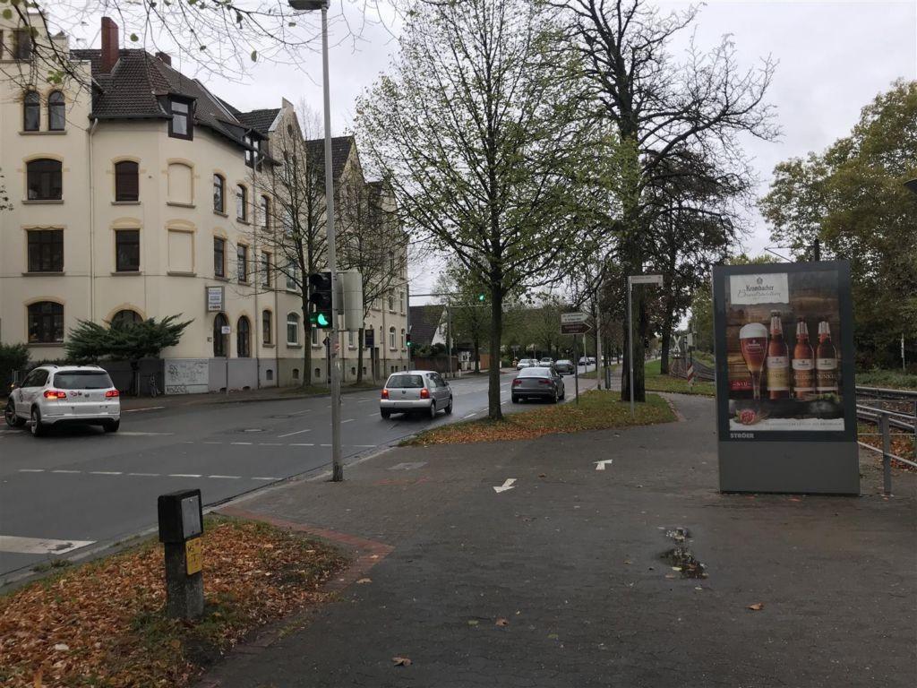Heisterbergallee geg. Ehrhartstr. Si. U-Bahn