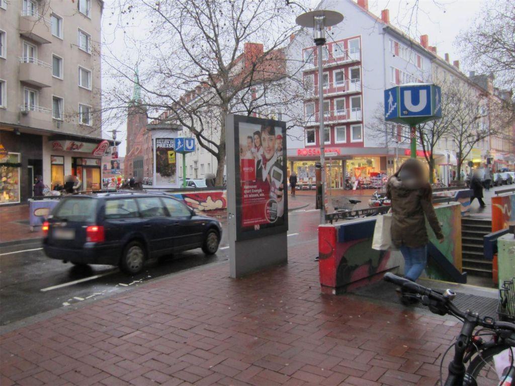 Lister Meile/Gretchenstr. Si. U-Bahn
