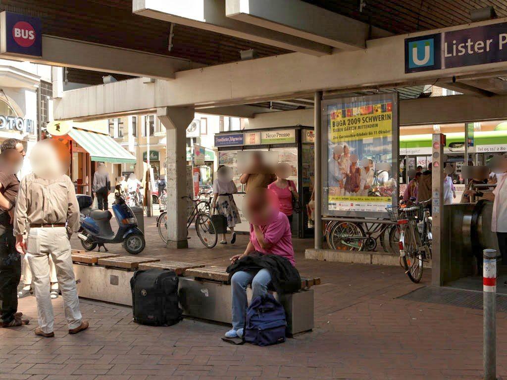 Lister Platz/Lister Meile/Si. Jakobistr.