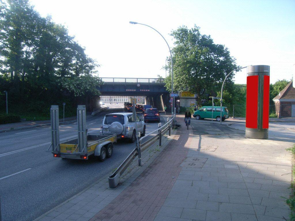 Bergedorfer Str./DB-Brücke