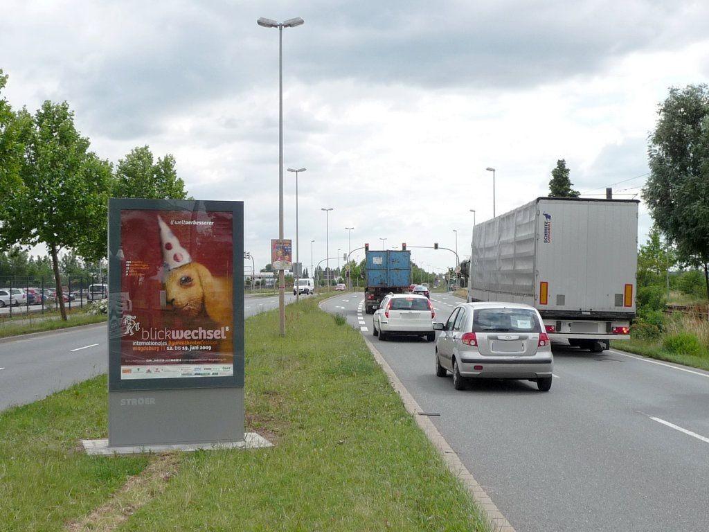 August-Bebel-Damm/Parchauer Str. sew./We.li.