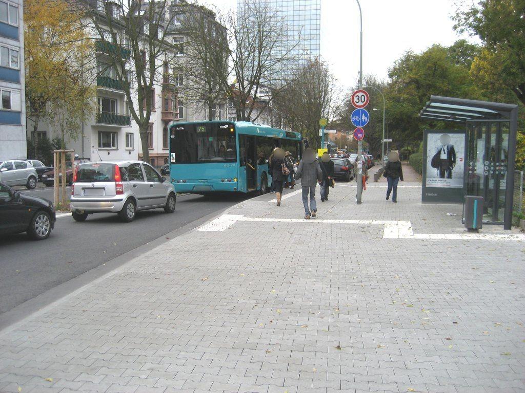 Fürstenberger- 217 geg./vor Uni-Campus Westend/in.