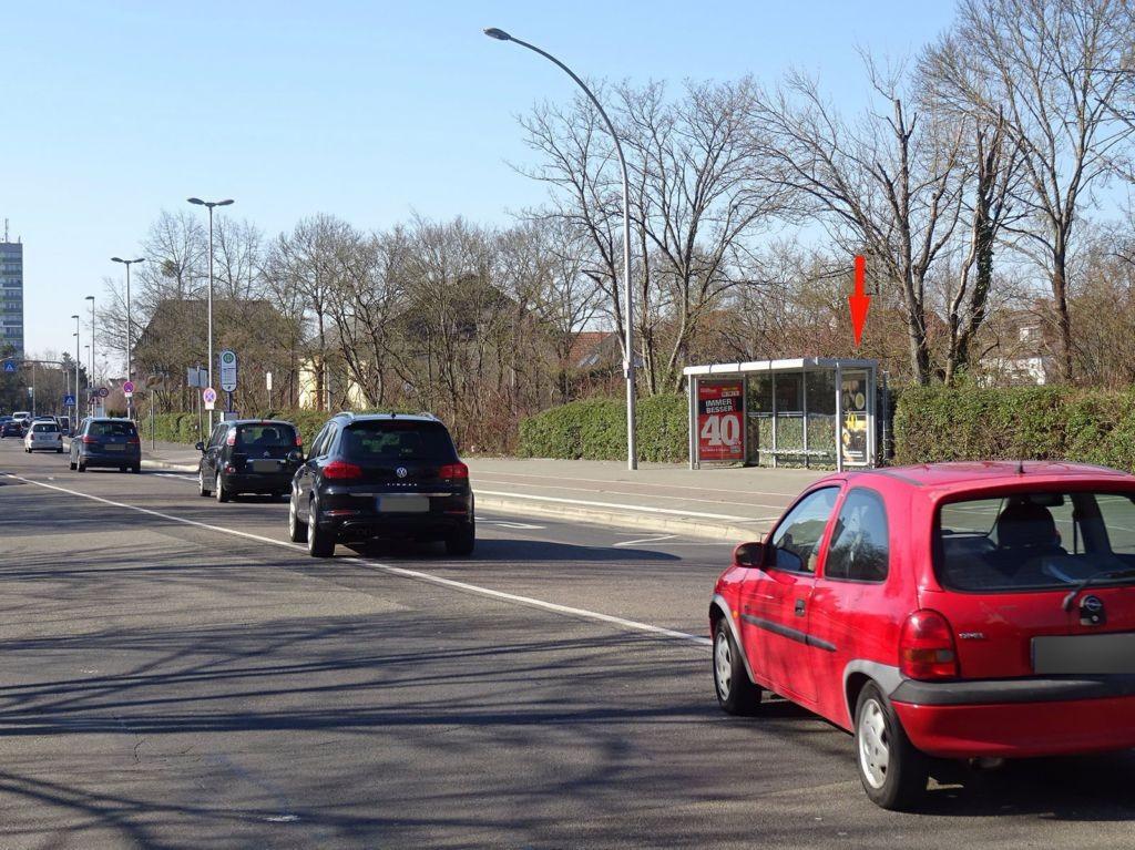 Alter Rückinger Weg 53/Hohe Landesschule/Rückwand