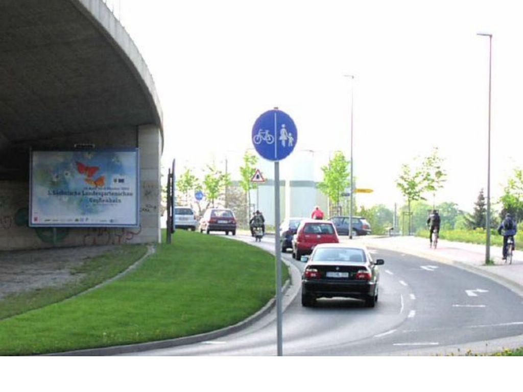 Nossener Brücke geg. Oederaner Str. quer B173