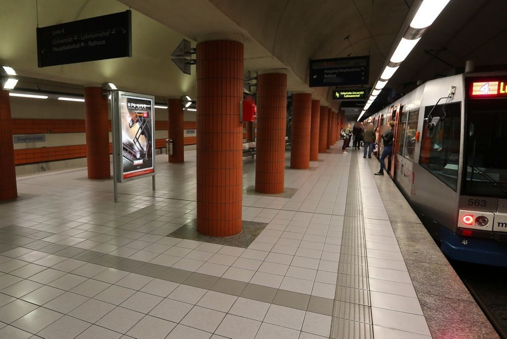 Siegfriedplatz 1/U-Bahnstation FR. City 2.Sto/VS