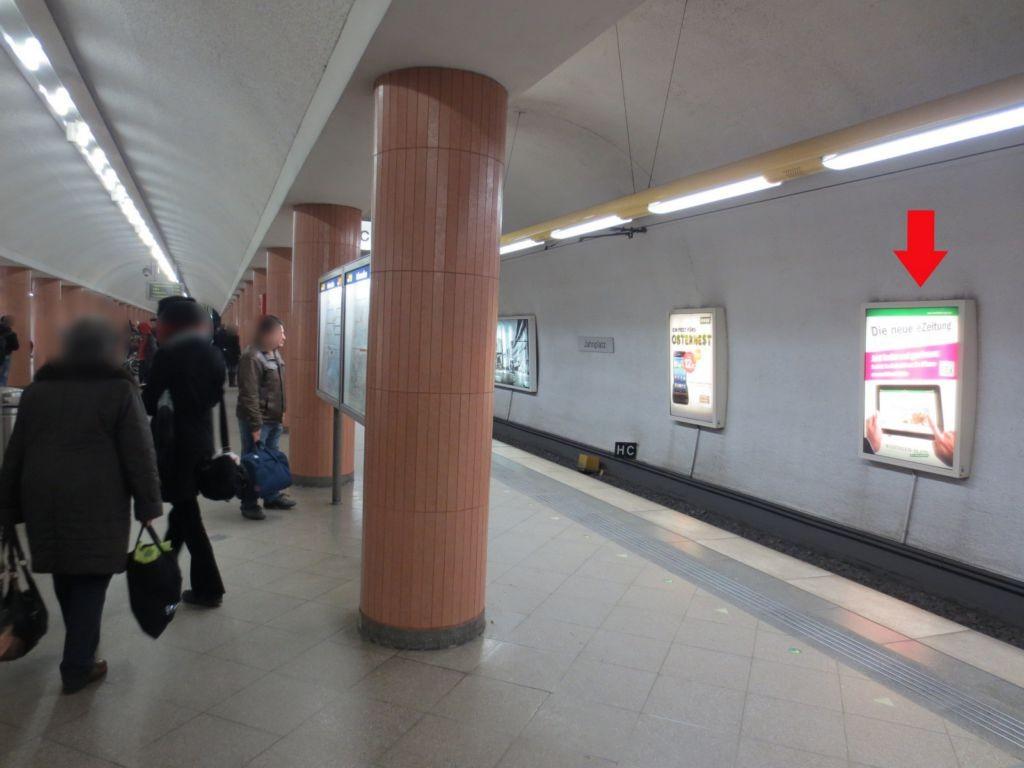 Jahnplatz 1, U-Bahnstation, FR. Sieker 6.Sto.
