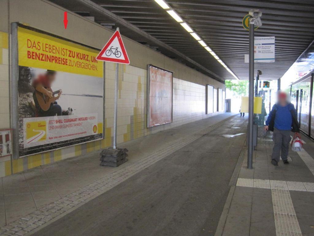 Stresemannallee, Ufg., saw., 1. Sto.