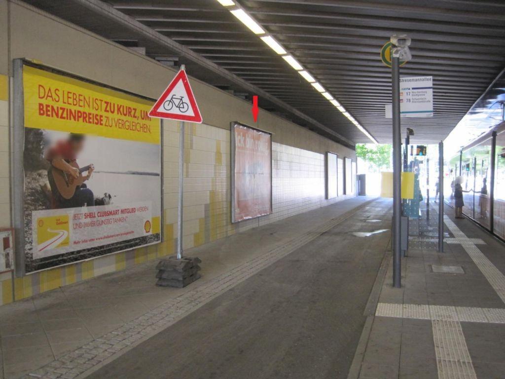 Stresemannallee, Ufg., saw., 2. Sto.