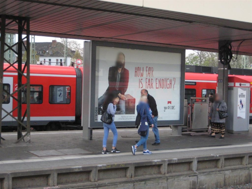 Hbf, Gl.  9, Abschn. B, 2.Sto. (SY08)