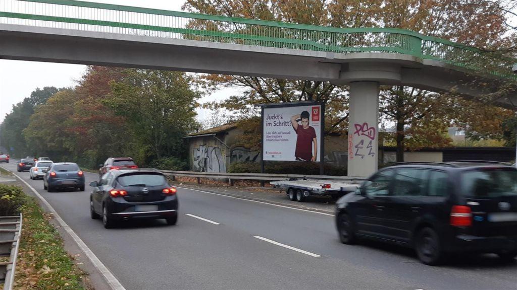 Schwanheimer Ufer/FußgängerbrückeTränkweg