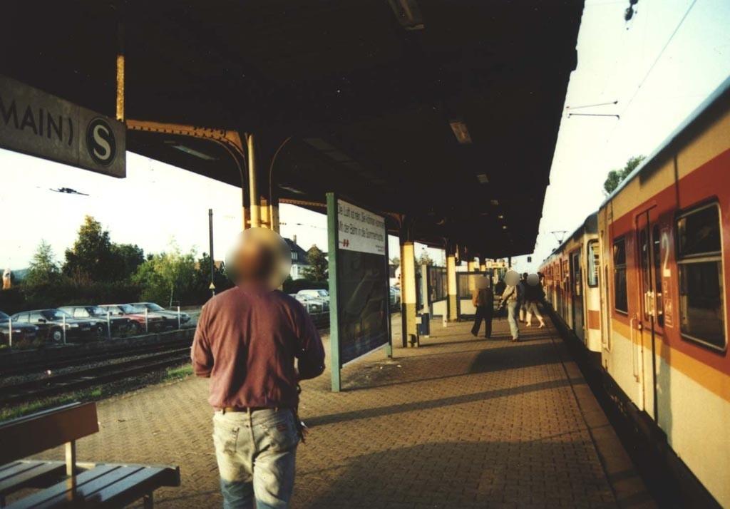 S-Bf Flörsheim,Bahnsteig, Gleis 2