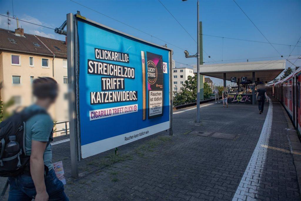 S-Bf Galluswarte,Bahnsteig, Gleis 2