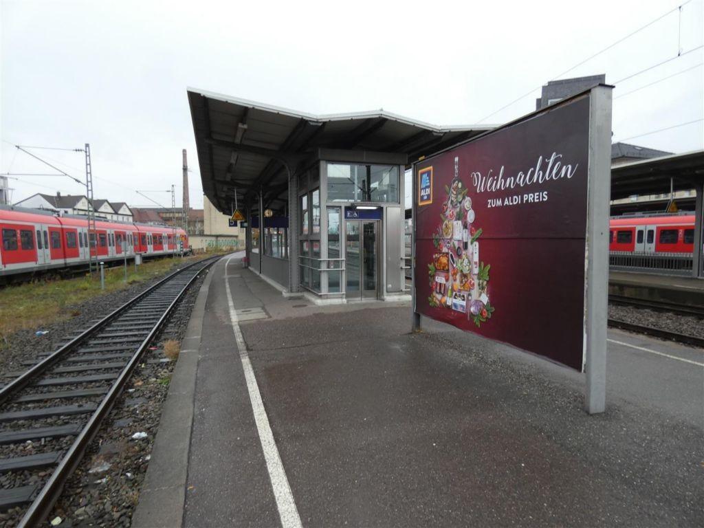 S-Bf Schorndorf, Bstg., Gleis 5, 2. Sto.