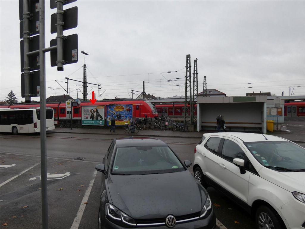 Rosenstr., S-Bf Schorndorf, Bf-Vorplatz, li.