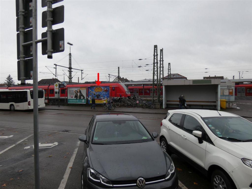 Rosenstr., S-Bf Schorndorf, Bf-Vorplatz, re.