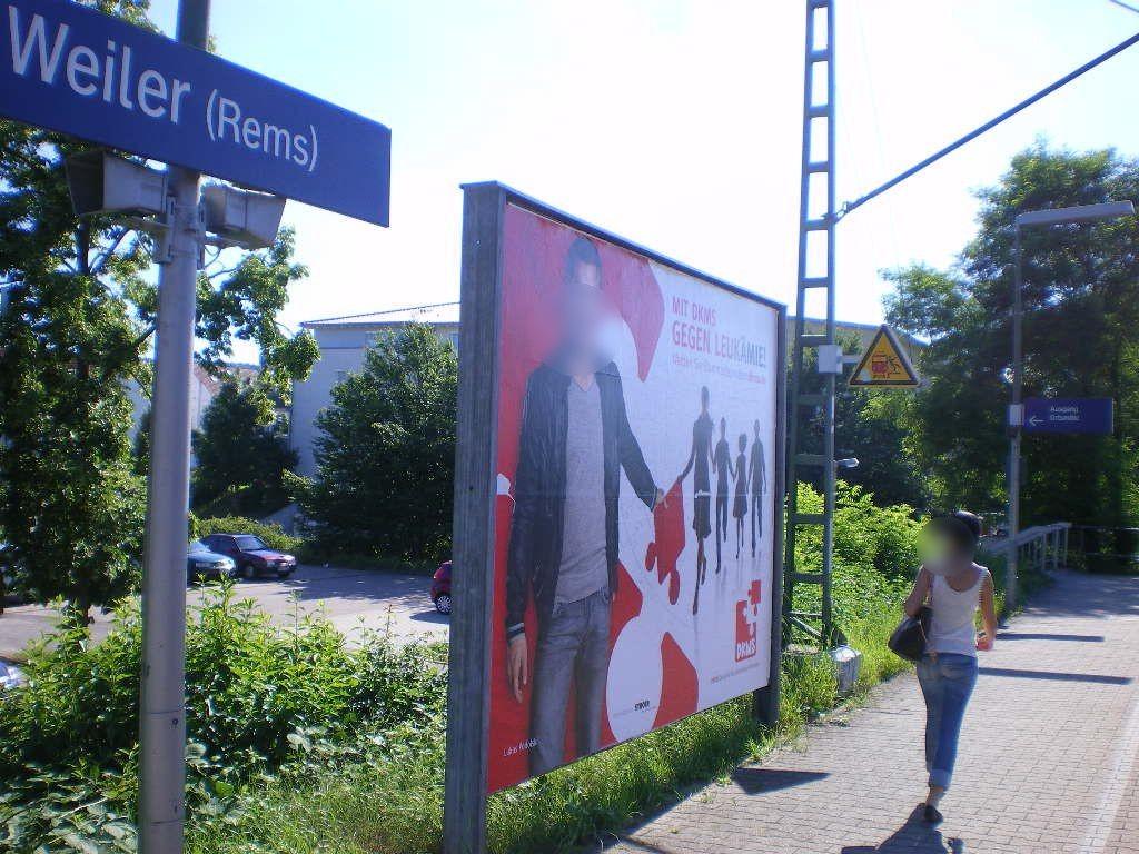 S-Bf Weiler, Bstg.,Gleis 1