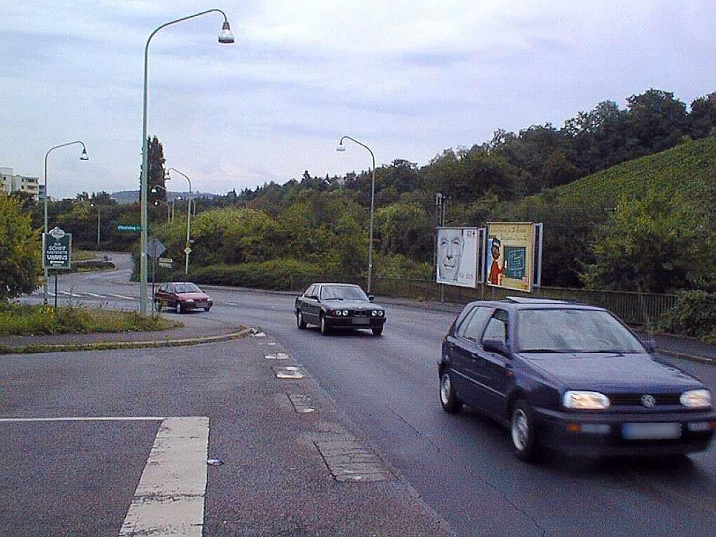 Pellingerstr. geg. Einf. zum Moselradweg