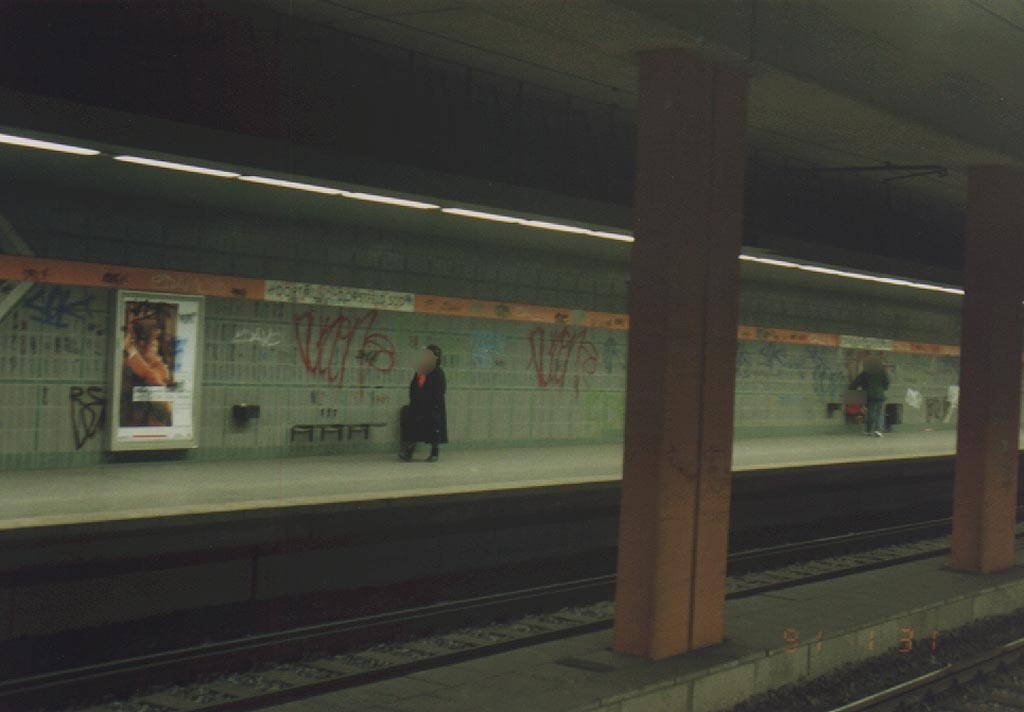 S-Bf Dorstfeld-Süd, Bstg. Gleis 2, Ri. Dortmund