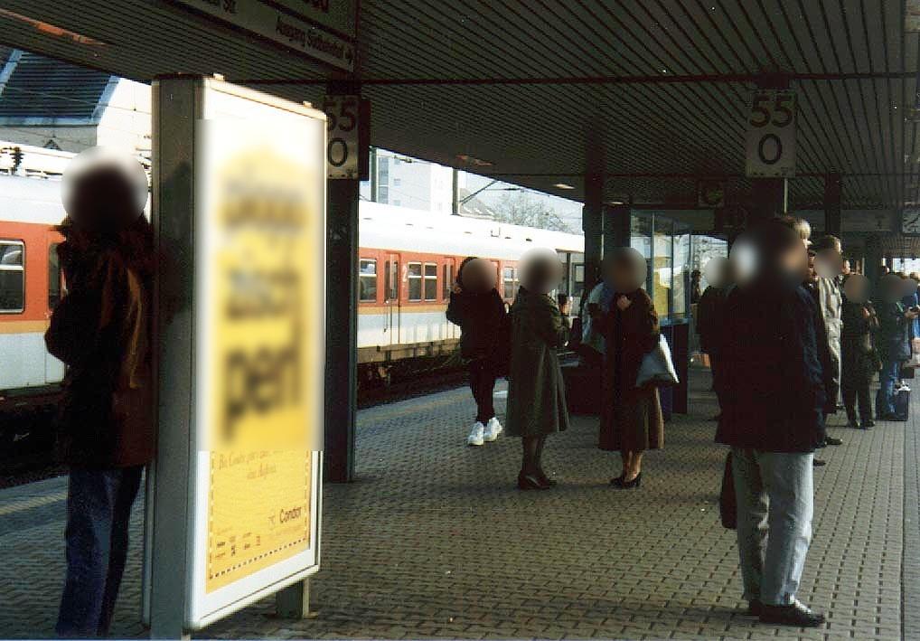 S-Bf Süd, Bstg., Gleis 4, 3. Sto.