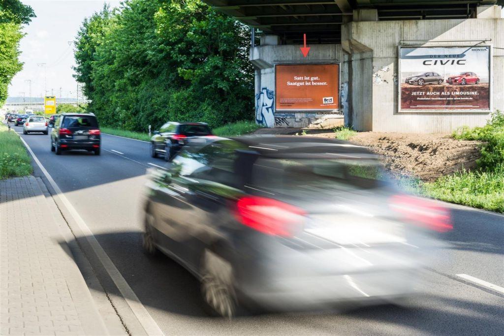 Ludwigshafener Str./DB-Brücke Nh. Rangierbf