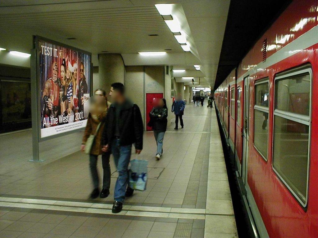 S-Bf Lokalbf, Bstg., Gleis 1, Nh.Bstg.-Aufsicht