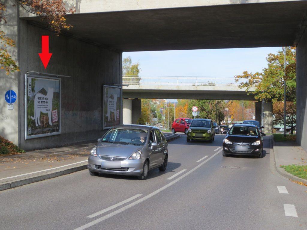 Füssener Str. (B309), DB-Brücke, saw., 1. Sto.