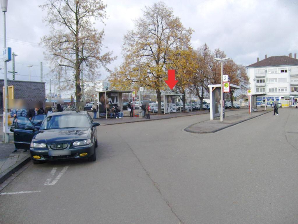 Bf, Bf-Vorplatz, Busbstg. 1, Wartehalle 2 /VS