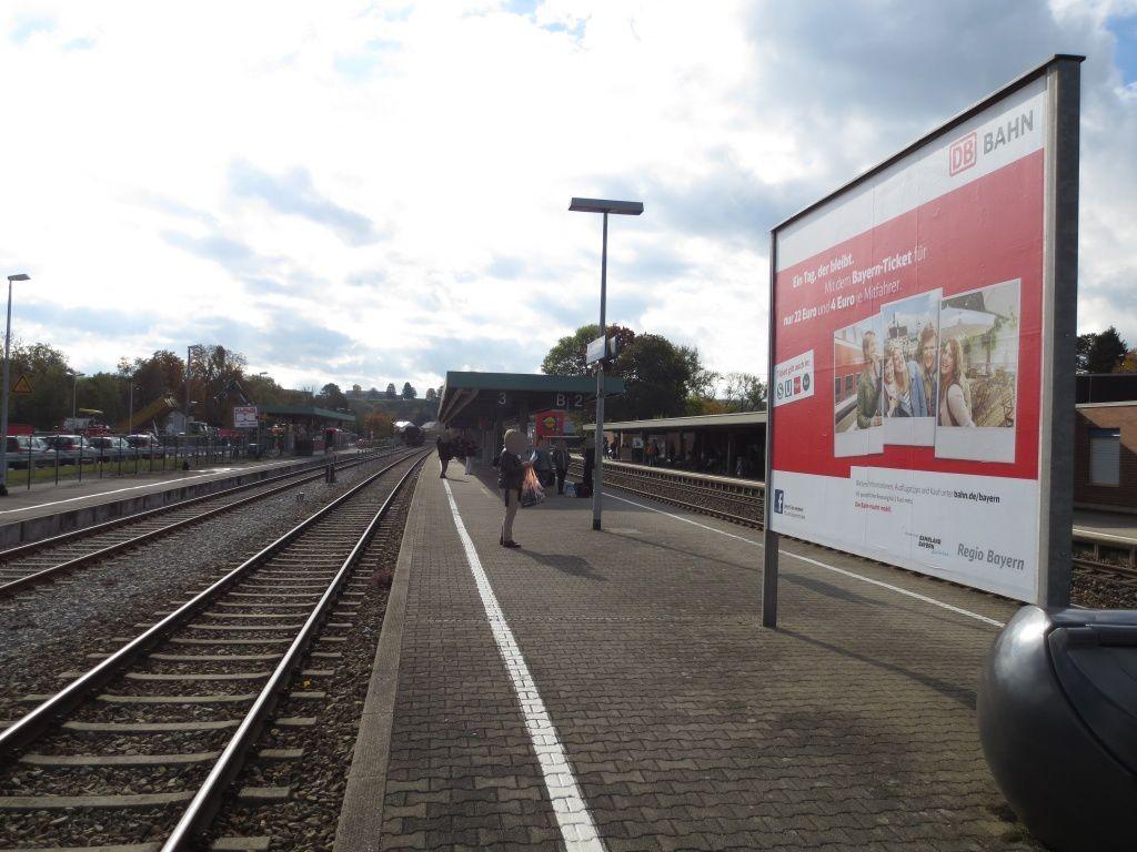Bf Kaufbeuren/Bahnsteig/Si.Gleis 3+4