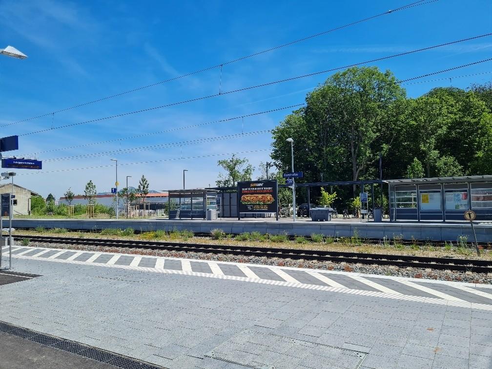 Bahnhofstr./Bahnhof/Bahnsteig 1