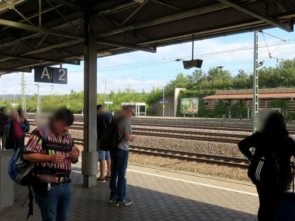 Hbf Bahnsteig Gleis 7