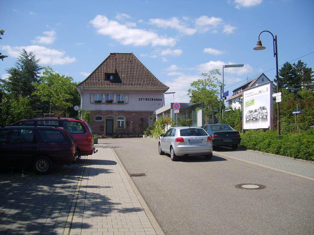 Bf Eutingen Si. Bahnhofsvorplatz