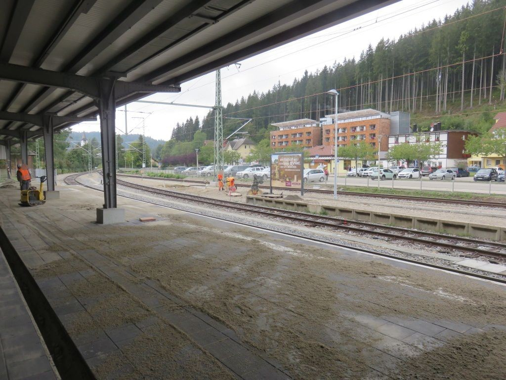 Bf Titisee Bstg. Gleis 2 Si. Bf