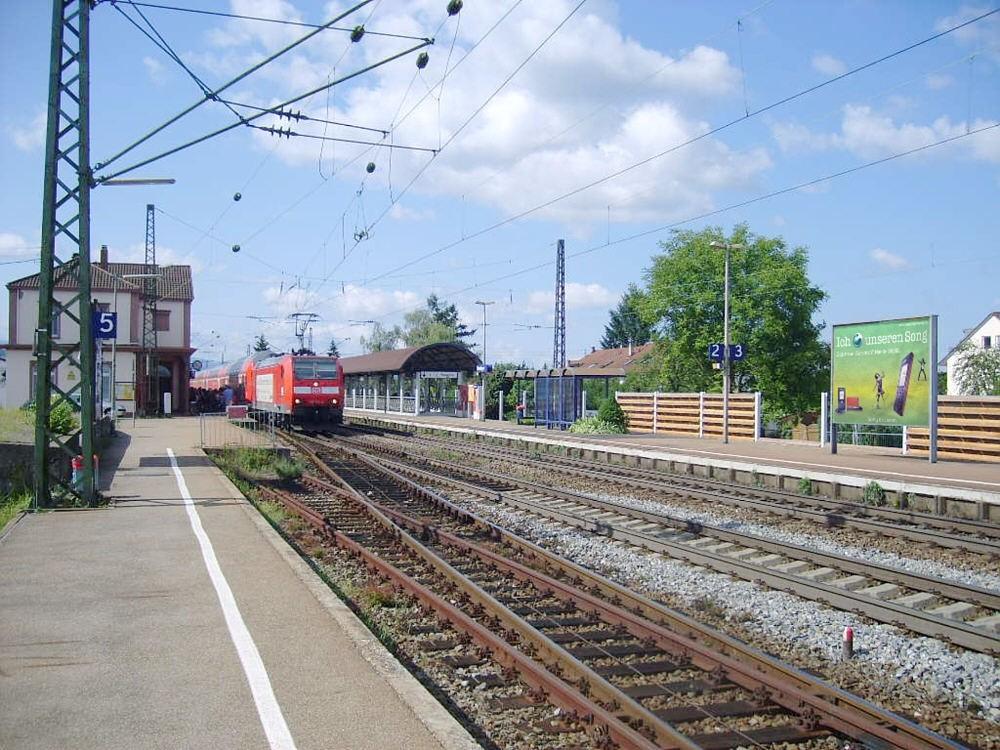 Bf Denzlingen, Bstg., Gleis 2