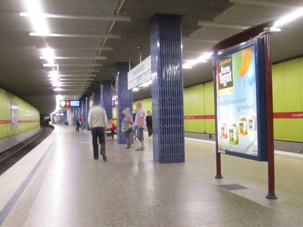Josephsplatz/U-Bahnsteig